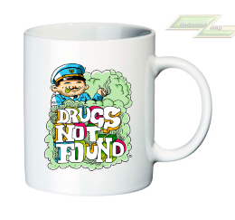"Креативная кружка ""DRUGS NOT FOUND"""
